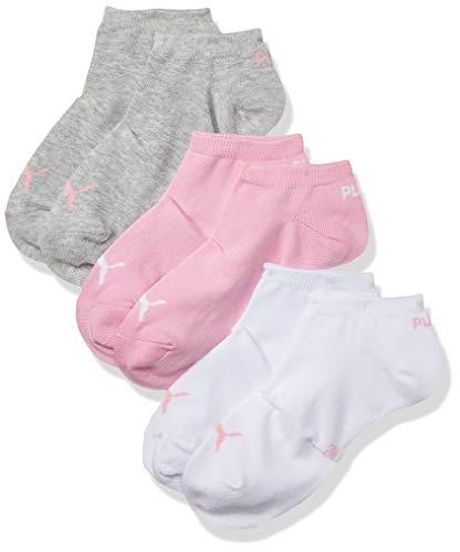 Puma PUMA UNISEX SNEAKER PLAIN 3P, Calcetines Unisex adulto, pack de 3, Rosa (Prism Pink 395), 35/38 (Talla del fabricante: 035)