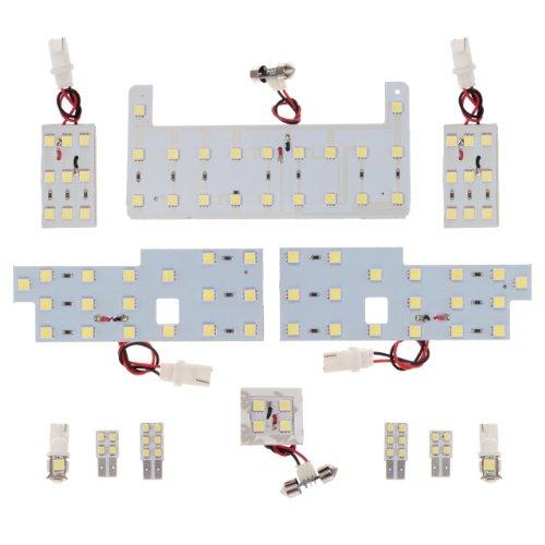 108連超高輝度SMDLEDプリウスZVW30系専用ルームランプセット