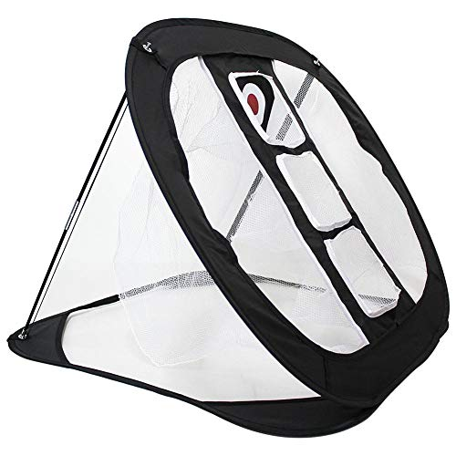 Golf Kurzspiel Praxis Net Pop Up Golf Chipping Net Golf Zielnetze Indoor Outdoor Hinterhof Schlagen Spiele Netze für Männer, Frauen, Kinder