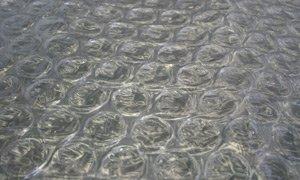 Luftpolsterfolie Gewächshausfolie Noppenfolie Isolierfolie 2,0 x 6 m UV-stabilisiert, mit 30 mm Noppen