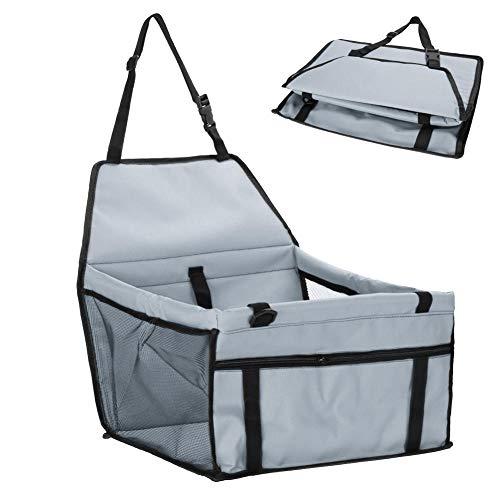 SHYSBV Huisdier hond lade pad waterdichte hond zitzak huisdier benodigdheden veilig draaghuis kat puppy tas hond autostoel, 45X30X25cm, Lichtgrijs