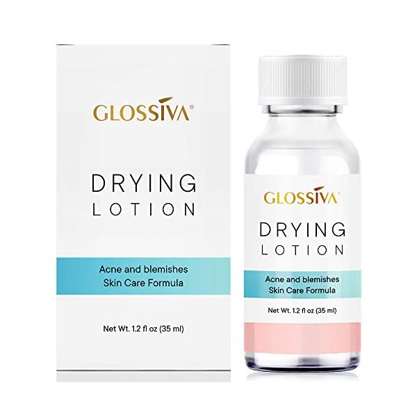 [category] Glossiva Drying Lotion, Acne Spot Treatment Dries Out Pimples,