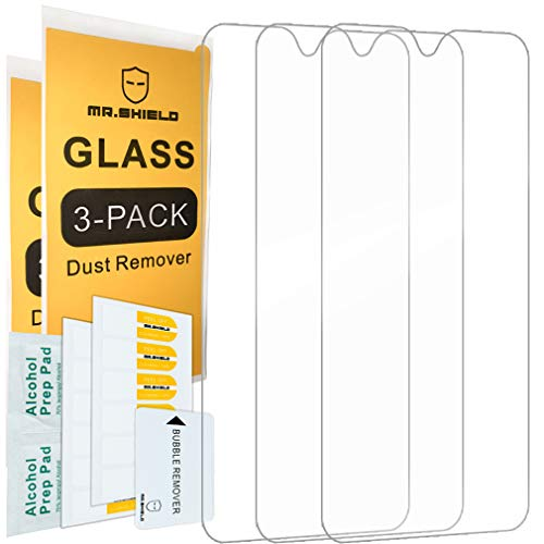 [3-Pack]-Mr.Shield for T-Mobile (Revvlry Plus) [Tempered Glass] Screen Protector with Lifetime Replacement