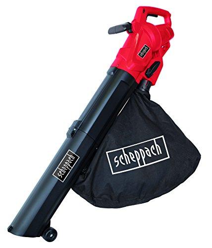 Scheppach Elektro Laubsauger und Laubbläser mit Häckselfunktion LB2600E (3000 Watt, 45 L Fangsack, Luftleistung: 13m³/min, Luftgeschwindigkeit: 160-270km/h)