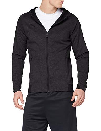 PUMA Herren Sweatshirt FINAL Casuals Hooded Jacket, Dark Gray Heather, XXL, 655294