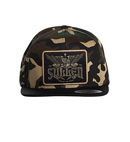 Sullen Men's Eagle Tradition Snapback Hat Camo Green