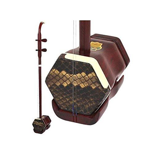 Erhu, Kleines Blatt Palisander Erhu, Erwachsene Kinder Anfänger Praxis spielt Erhu National Musikinstrumente, (Größe: 80 * 10 * 14 cm) HUERDAIIT (Size : 80 * 10 * 14cm)