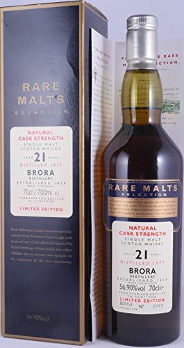Brora (silent) - Rare Malts - 1977 21 year old Whisky