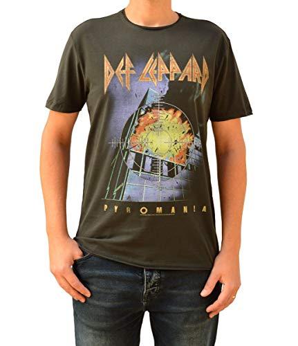 Amplified Def Leppard Pyromania Camiseta para Hombre XXL