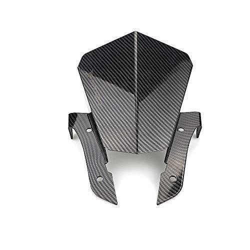 YUQINN Motorradteile Motorrad Windschutzscheibe Front Air Deflector Smoke Carbon Look Zubehör for Yamaha MT-07 FZ-07 2013 2014 2015 2016 2017 (Color : MT 07)