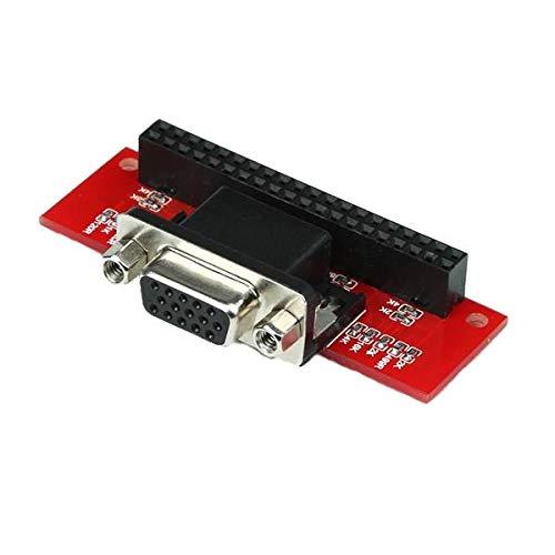 weichuang Elektronisches Zubehör VGA 666 Adapterplatine für RPi 3 Modell B 2B B+ A+ Elektronikteile Elektronikzubehör