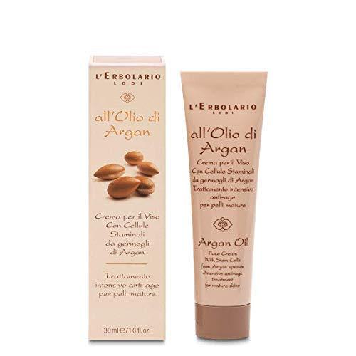 L'Erbolario Crème pour le Visage Anti-âge pour les Cheveux et le Corps Huile Io de Argan Crème Jour et Nuit Anti-age Peaux Matures 30 ML