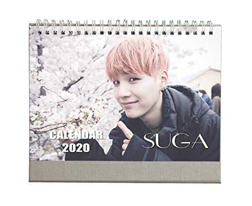 Fanstown BTS 2020 Desk Calendar Rap Monster V Junk Kook with lomo Card