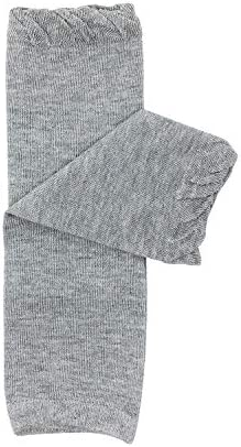 allydrew Pastel Baby Leg Warmer Pastel Toddler Leg Warmer for Boys Girls Solid Gray product image