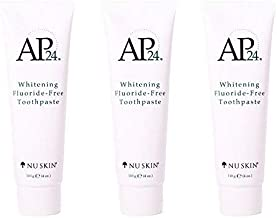 Nu Skin Nuskin AP24 Whitening Fluoride-Free Toothpaste 110g 4oz New Formula. 3 pack