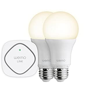 Belkin - Bundle WeMo LED Smart Light - 2 Ampoules LED Smart Light (à Vis) + Plug ZigBee - Compatible Tablettes Tactiles et Smartphones iOS/Android (B00P7RAWXG) | Amazon price tracker / tracking, Amazon price history charts, Amazon price watches, Amazon price drop alerts