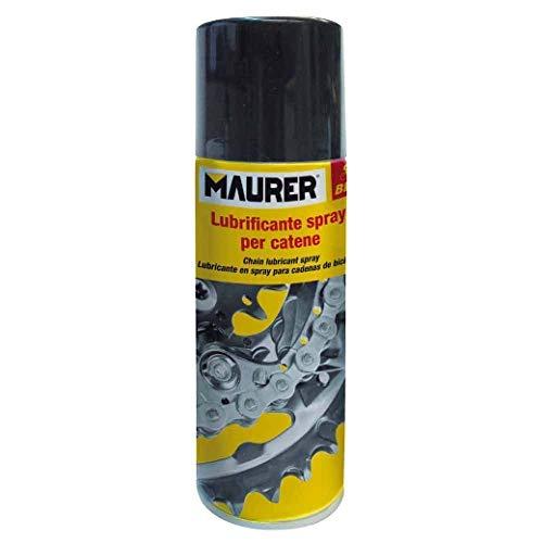 MAURER 12060362 Spray Lubricante Cadenas Bicicleta 200 ml