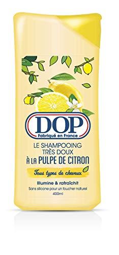 Dop DOP Champú muy suave con pulpa de limón, 400 ml – Lote de 4