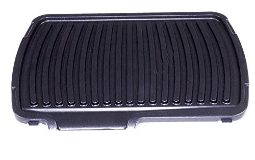 Grillplate (unten) TS-01035580 kompatibel mit Rowenta Comfort GR306012 Kontaktgrill