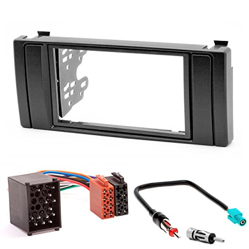 CARAV 11–041–3 Kit d'installation de Bord 67 Kit de montage autoradio façade d'autoradio Double DIN fascia Plate Facia