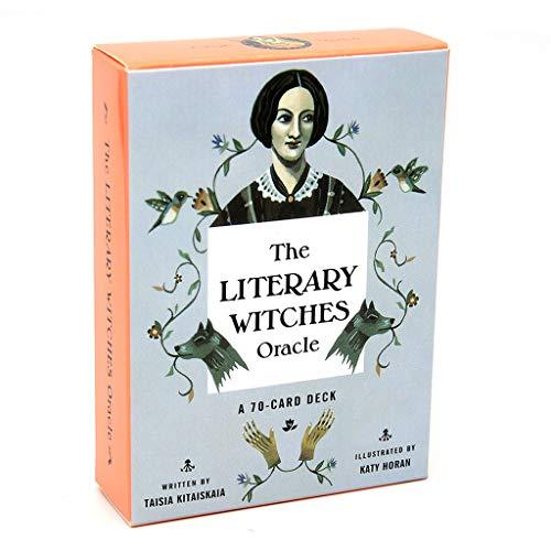 DALIN The Literary Witches Oracle 70 Karten Tarot-Deck, englische Familien-Party-Brettspiel