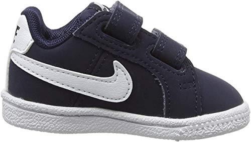 Nike Court Royale (TDV), Zapatillas de Gimnasia para Niños, Azul (Obsidian/White 400), 23 1/2 EU