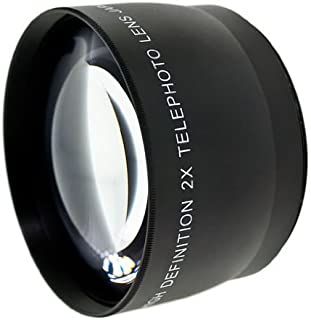 Black Wide Angle Conversion Lens 37mm for Sony HDR-XR500V Digital Nc 0.45x High Grade