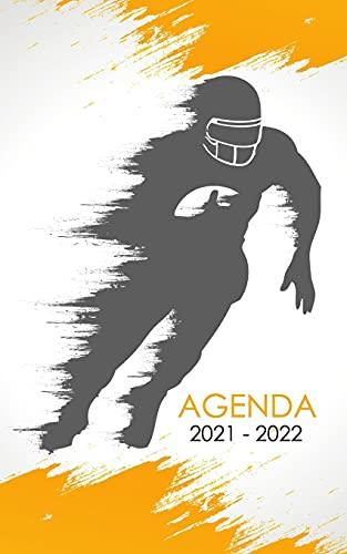 Agenda 2021 - 2022: Schulagenda oder Studentenplaner amerikanischer fußball sehr cool für studenten oder Schüler für die Schule, Universität, oder ... 2022  260 Organisationsseiten 1 Tag 1 Seite