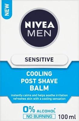 NIVEA Sensitive Cooling Post Shave Balm 100 ml by Beiersdorf Uk Ltd
