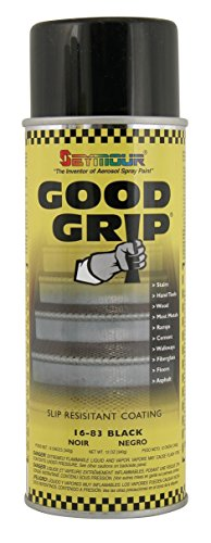 Seymour 16-083 Good Grip Slip Resistant Coating Spray, Black