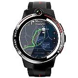 Android Smart Appllp 3 Watch Men's 1.39 Pulgada Redonda Pantalla Redonda WiFi 4G Smartwatch Hembra Doble Cámara Llamada 3G + 32G,A