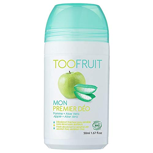 Toofruit Mon Premier Déo Pomme Aloe Vera Bio 50 ml