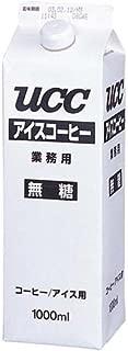 UCC アイスコーヒー業務用無糖 1L×24本