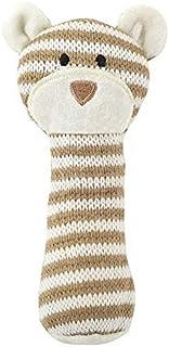 Santa Barbara Design Studio Knit Rattle - Brown Bear (Pack of 2)
