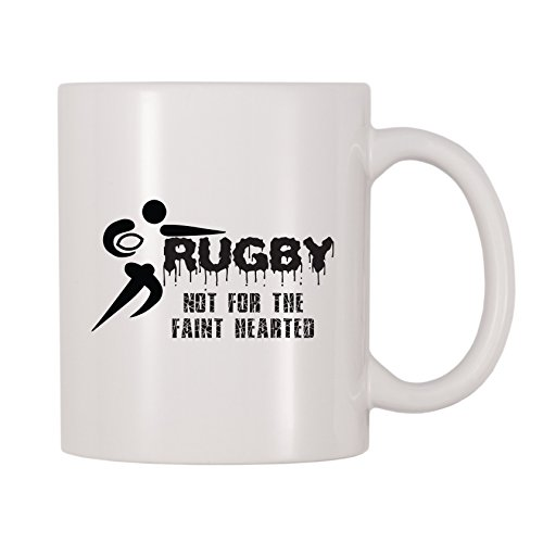 4 All Times Rugby Not For The Faint Hearted Mug (11 oz)