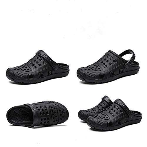 YYLP Verano Casual Agujero Zapatos Sandalias Transpirable Al Aire Libre Antideslizante Zapatilla De Playa Chancleta Ligera