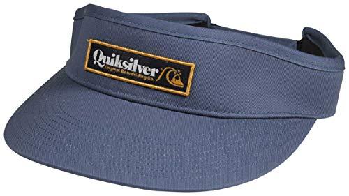 Quiksilver Men's BRADSKI Visor HAT, Parisian Night, 1SZ