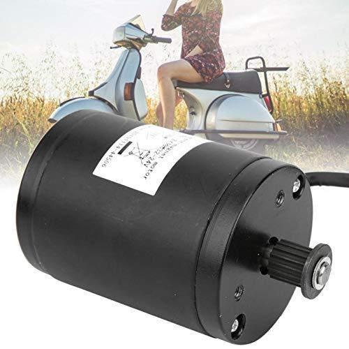 Omabeta Motor de cepillo de rueda de sincronización 24 V 120 W de alta eficiencia fuerte eléctrico Scooter cepillo motor durabilidad largo kilometraje para bicicletas plegables