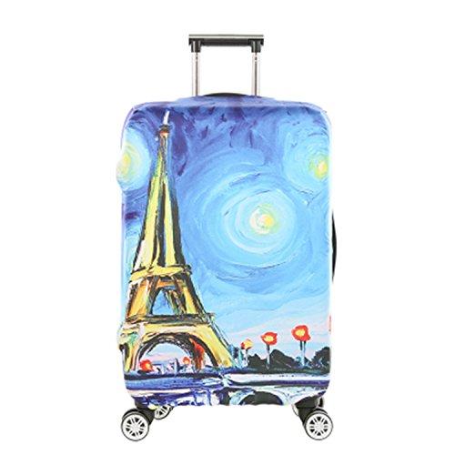 "Dometool Luggage Cover Proteggi Valigia Protettore dei Bagagli Valigia Borsa Elastica Suitcase Cover Proteggi Bagagli,Fits 18""-20"""