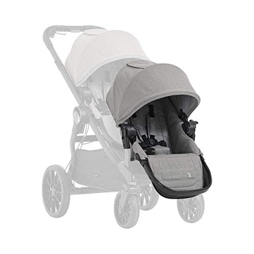 Baby Jogger City Select LUX Zweitsitz mit Adapter | kompatibel mit dem City Select LUX Kinderwagen | Schiefer (grau)
