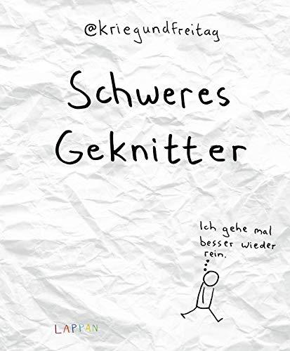 Schweres Geknitter: Cartoons und Collagen von @KriegundFreitag