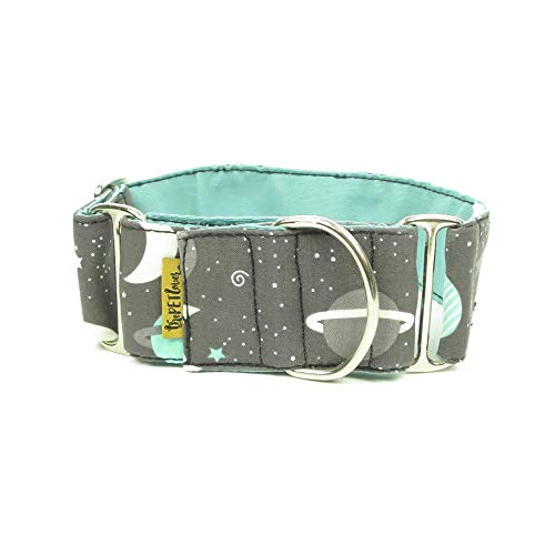 ThePetLover TPL150031 Halsband Martingale Planeten für Hunde, L