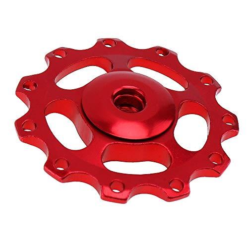 2020 Jans GE' Tienda Aleación de Aluminio 11 Engranaje Bicicleta Carretera MTB Trasero DerreaReur Guía de la polea Rueda de Rodillo para Shimano DimeLeur (Color : GR)