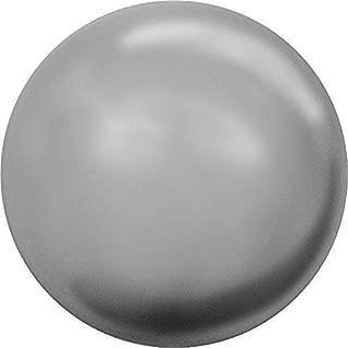5810 Swarovski Pearls Round Crystal Grey Pearl   5mm - Pack of 100   Small & Wholesale Packs