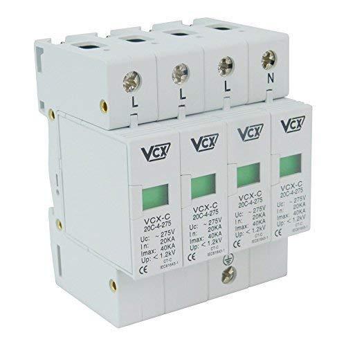 VCX Überspannungsschutz 4p 20-40kA C II 275V Blitzschutz CT-C VCX 9018
