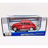 Maisto Vehículo a Escala 1:24 Volkswagen Beetle Fundido (los Colores Pueden Variar)