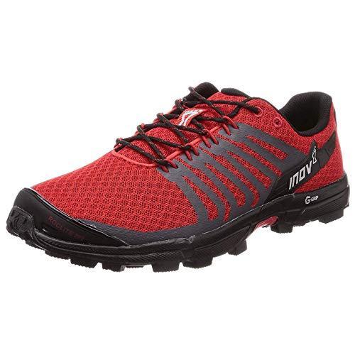 Inov-8 Mens Roclite 290 V2 | Trail Running OCR Shoes | Lightweight | Superior Durability & Unrivalled Graphene Grip | Red/Black M9/ W10.5