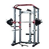 novi Power Rack, multifunción Home Barbell Rack Ajustable Dispositivo de Entrenamiento Completo Equipo de Entrenamiento de Fuerza