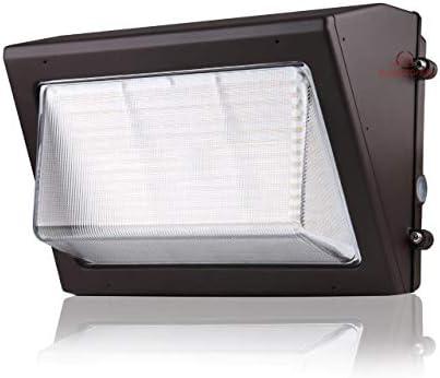 120 Watt LED Wall Pack Light 17 400 Lumens 3000K Warm White High Efficiency 140 Lumen to Watt product image