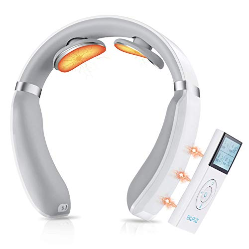 Neck Massager for Pain Relief, Intelligent Neck Massage with Heat, 6 Massage Modes 16 Levels...